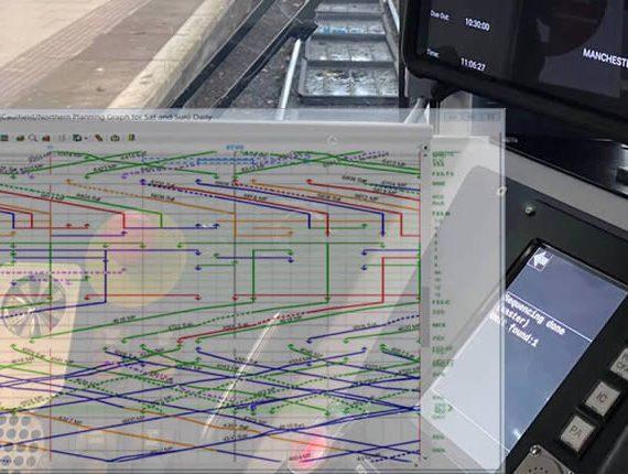 Bright future for rail travel banner