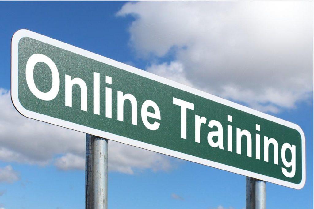 Online customer training